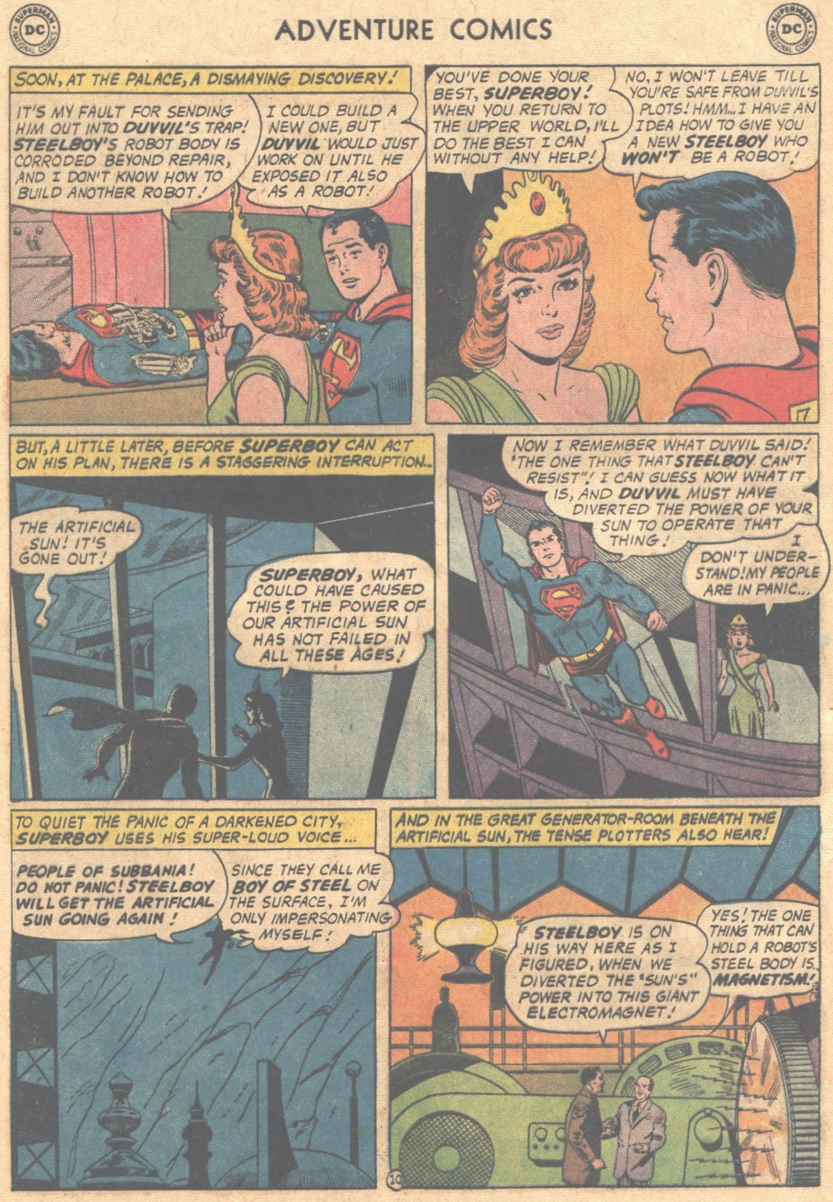 Read online Adventure Comics (1938) comic -  Issue #302 - 13