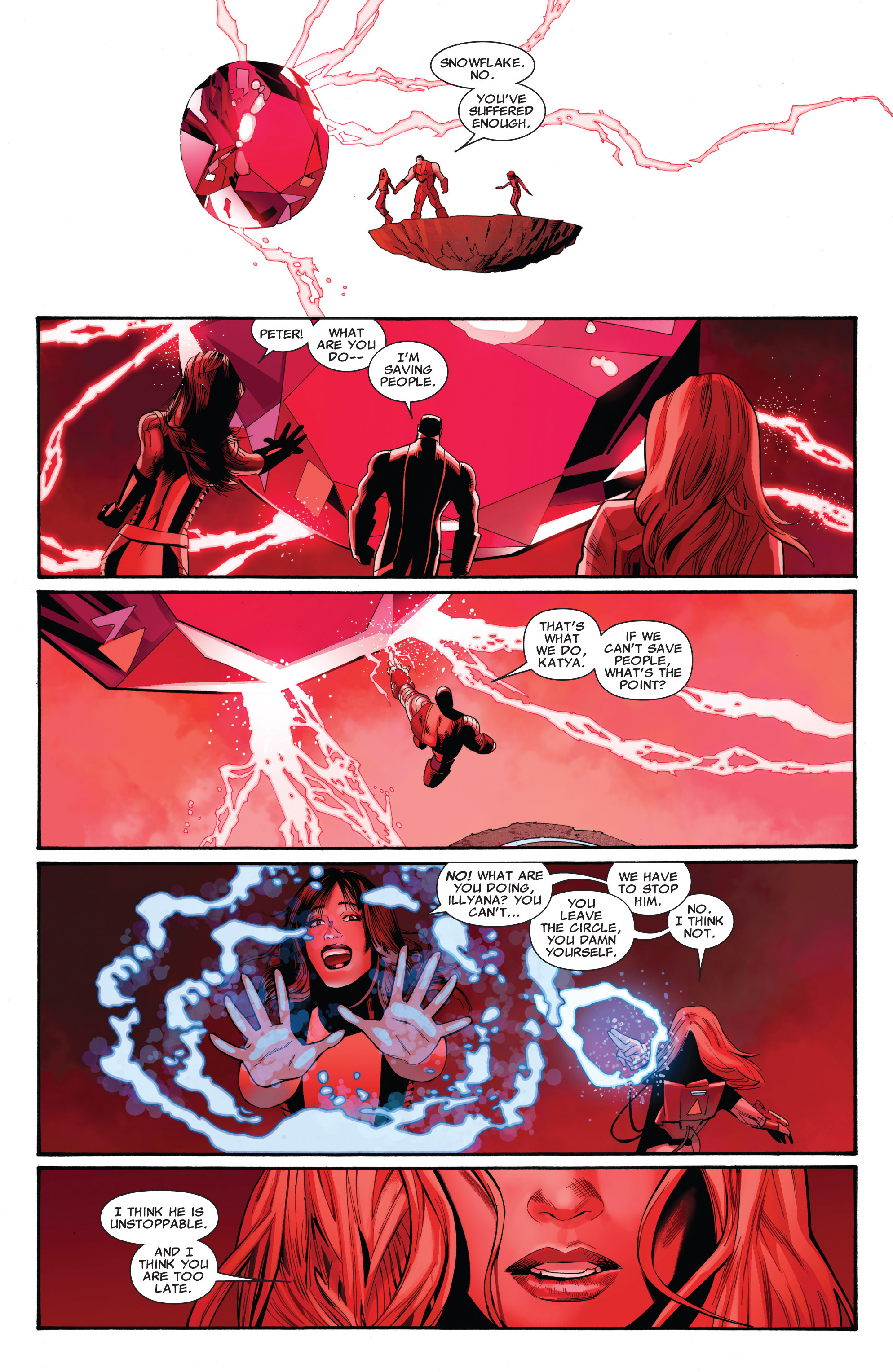 Read online Uncanny X-Men (1963) comic -  Issue #542 - 20