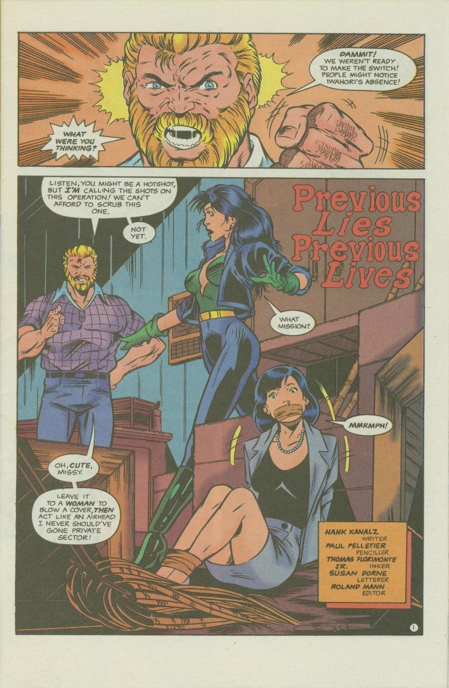 Read online Ex-Mutants comic -  Issue #8 - 3