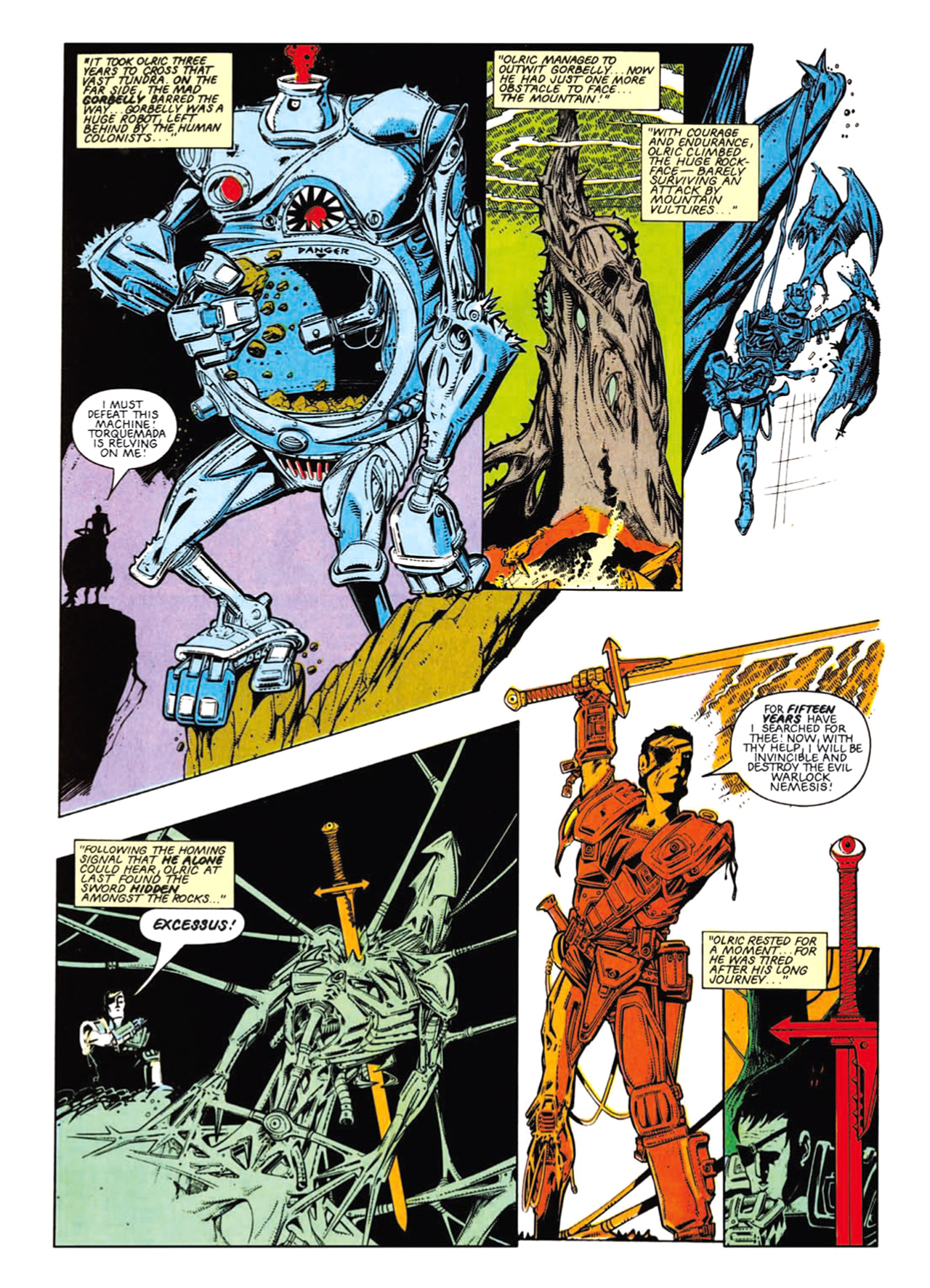 Read online Nemesis The Warlock comic -  Issue # TPB Deviant Edition - 66