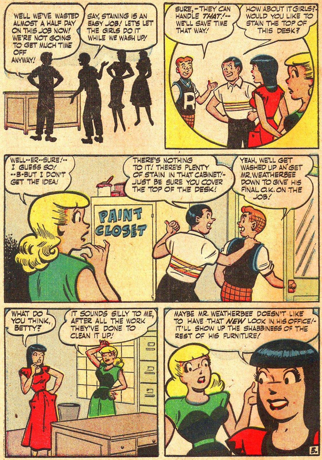 Read online Archie's Girls Betty and Veronica comic -  Issue #Archie's Girls Betty and Veronica Annual 1 - 34