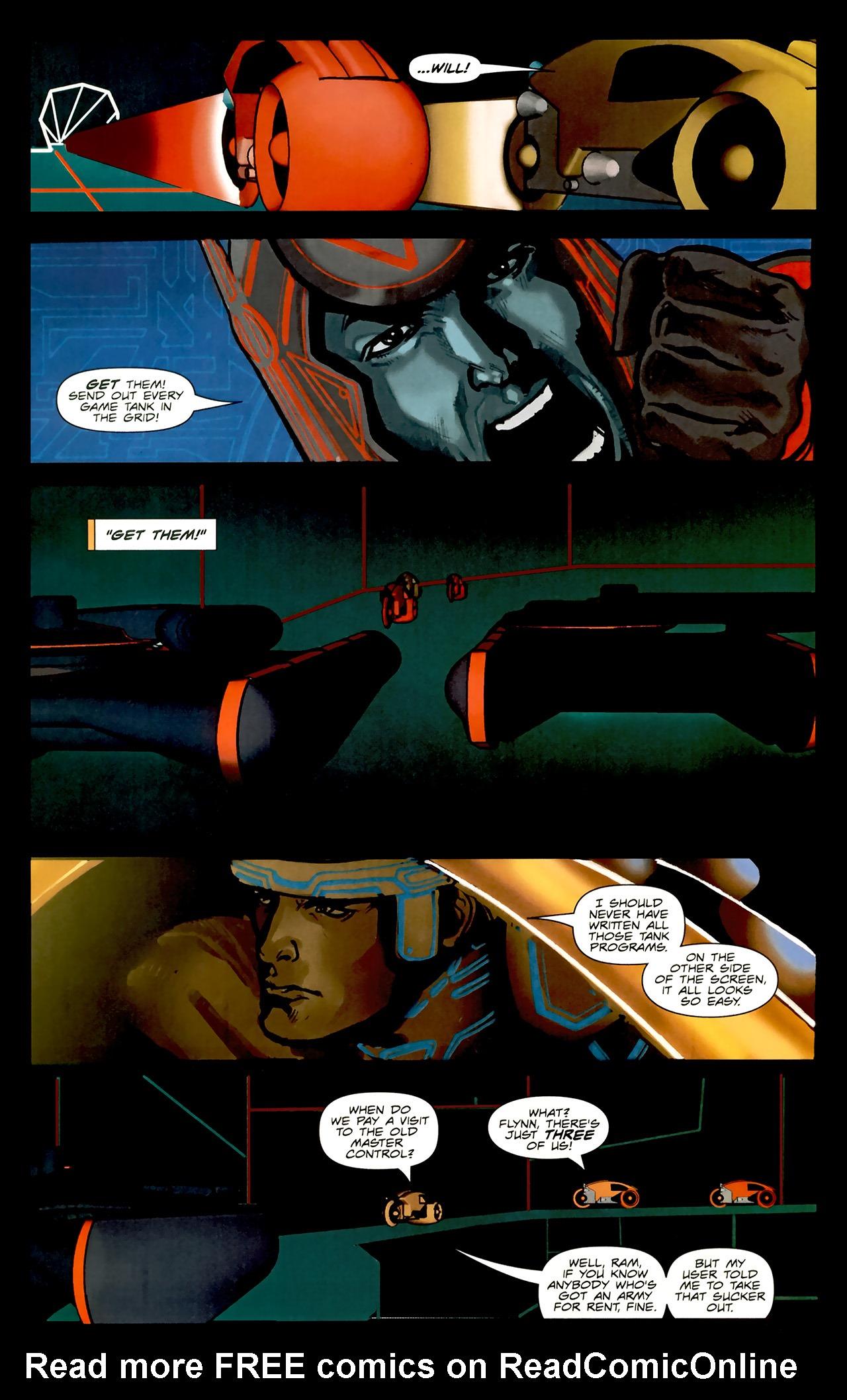 Read online TRON: Original Movie Adaptation comic -  Issue #2 - 11