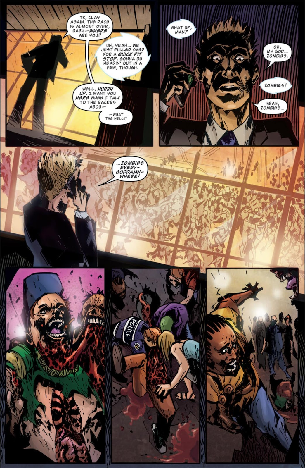 Read online Dead Rising: Road to Fortune comic -  Issue #3 - 13