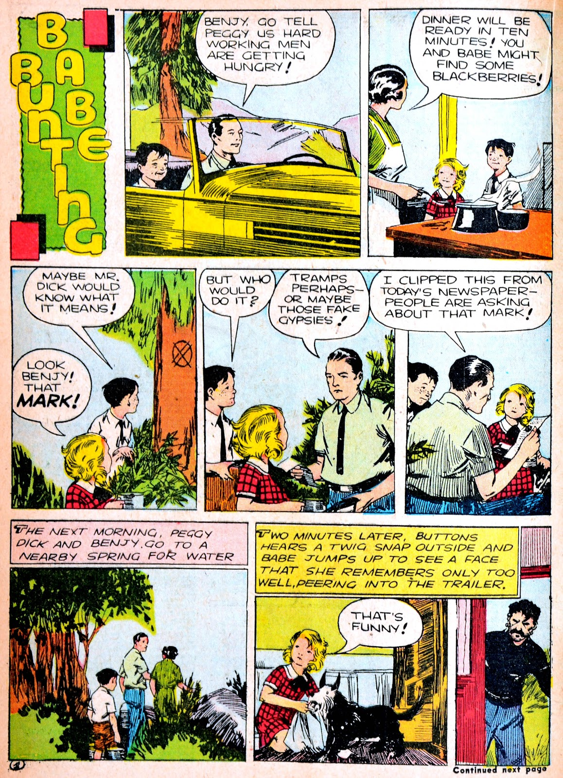 Read online Famous Funnies comic -  Issue #88 - 35