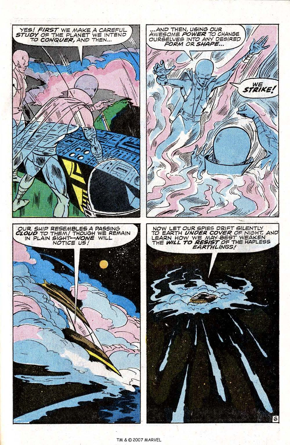Read online Silver Surfer (1968) comic -  Issue #6 - 57