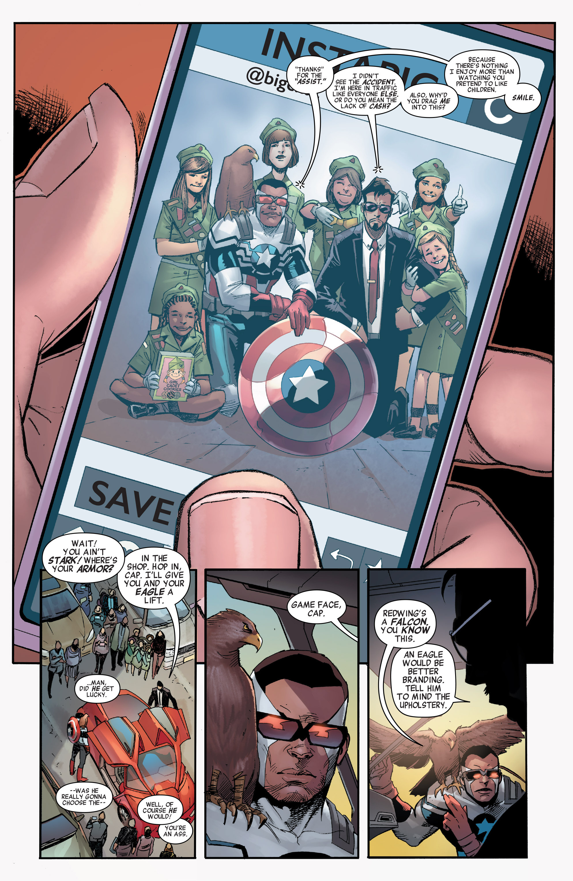 Read online All-New, All-Different Avengers comic -  Issue #1 - 8