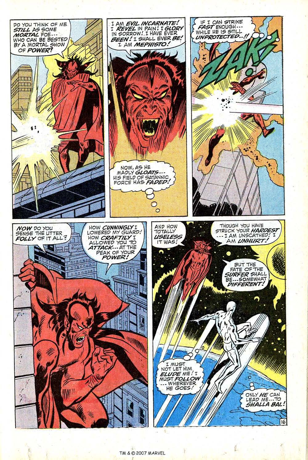Read online Silver Surfer (1968) comic -  Issue #16 - 23