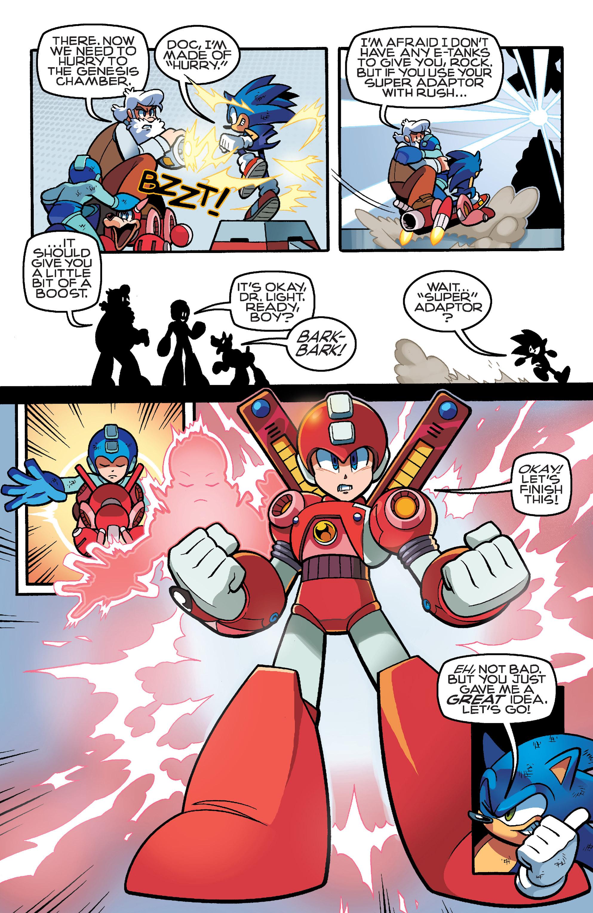 Read online Sonic Mega Man Worlds Collide comic -  Issue # Vol 3 - 103