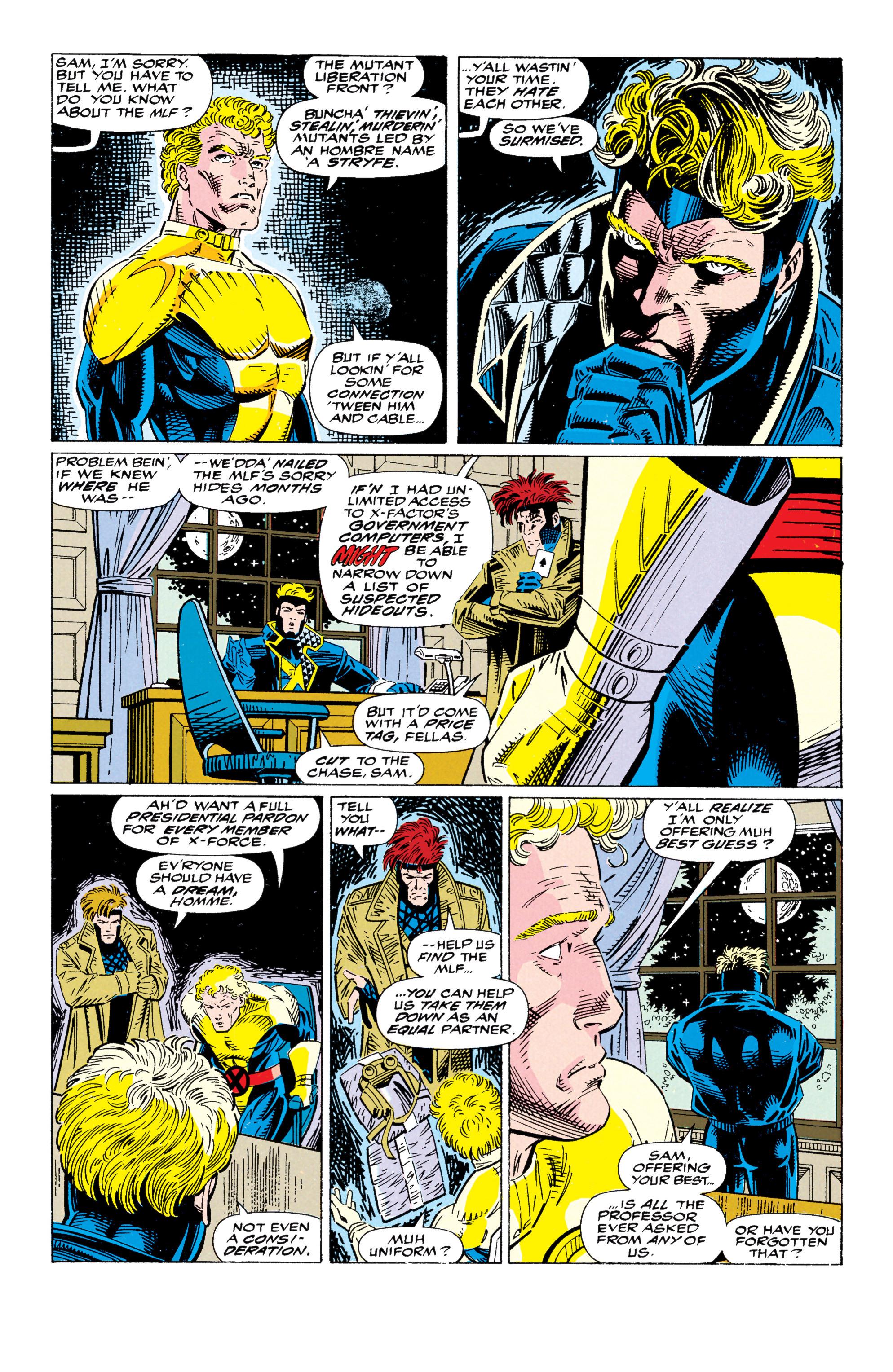 Read online Uncanny X-Men (1963) comic -  Issue #295 - 22