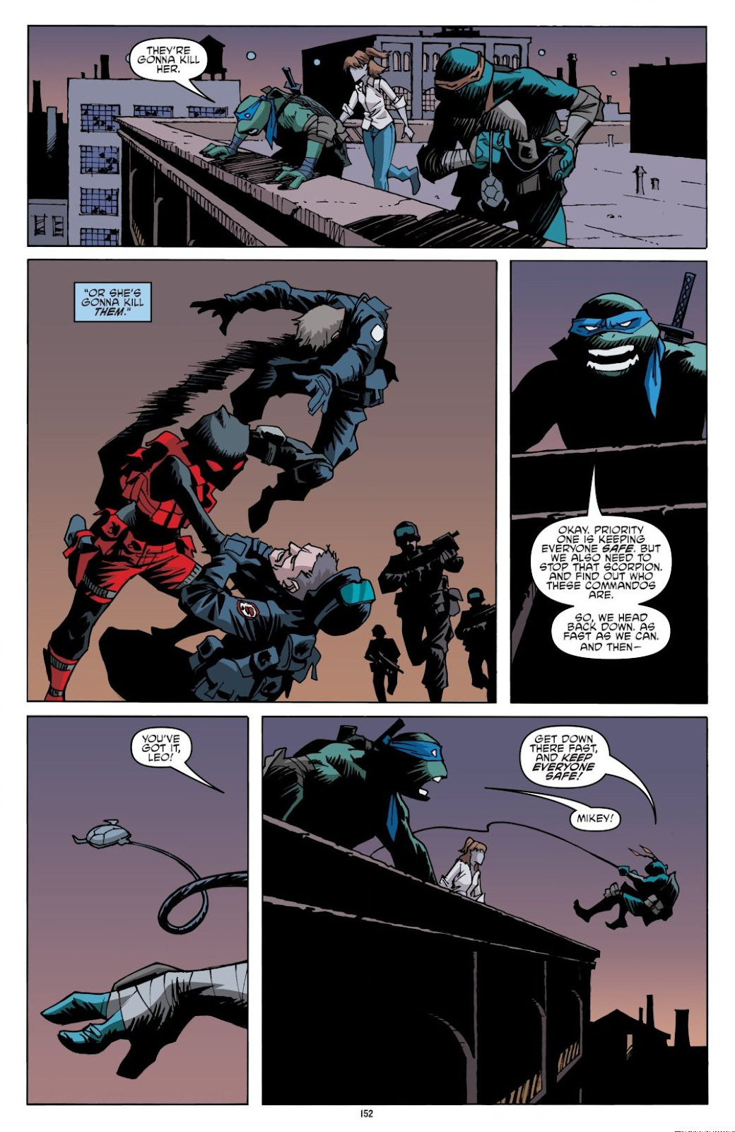 Read online Teenage Mutant Ninja Turtles: The IDW Collection comic -  Issue # TPB 8 (Part 2) - 51