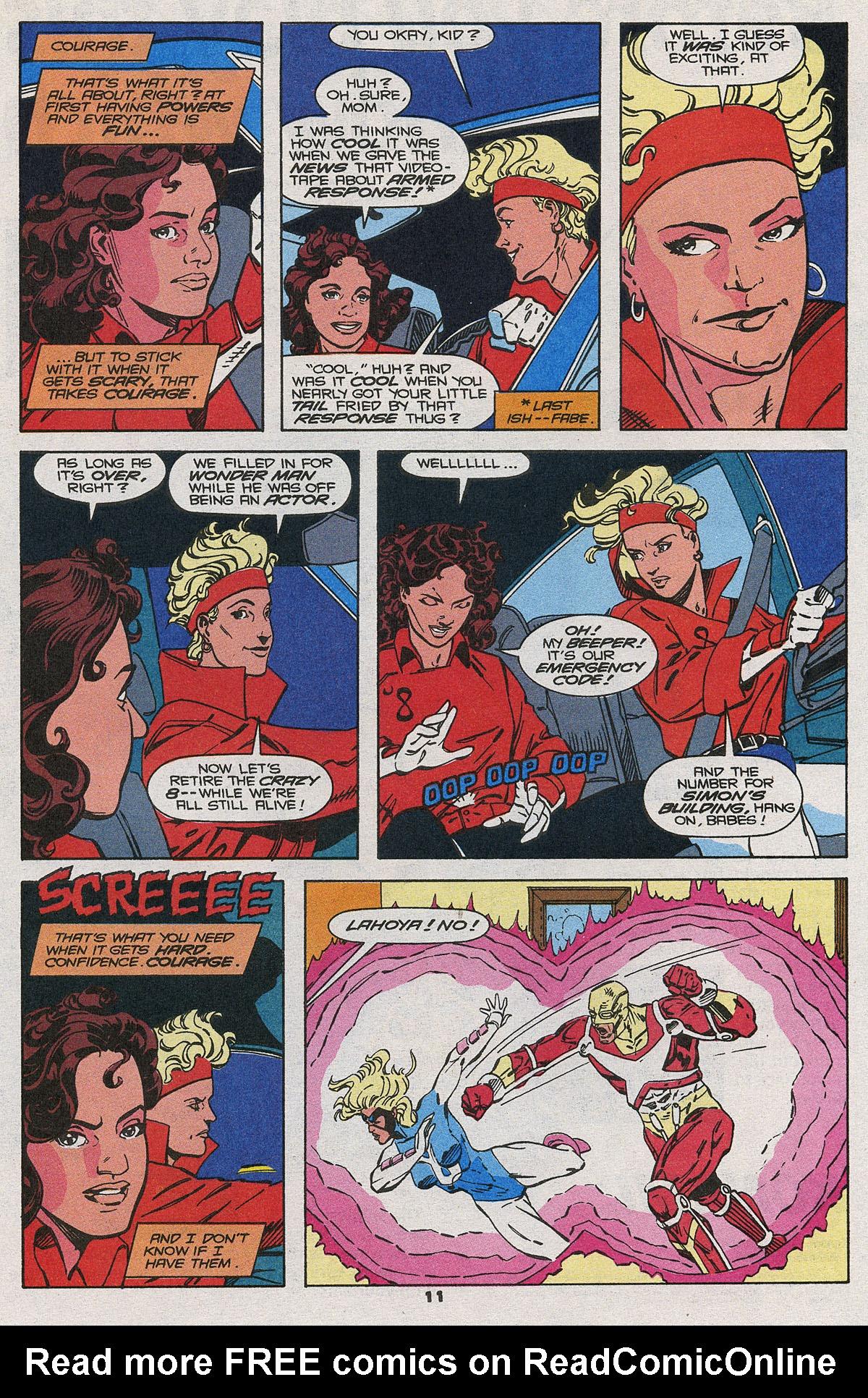 Read online Wonder Man (1991) comic -  Issue #20 - 11