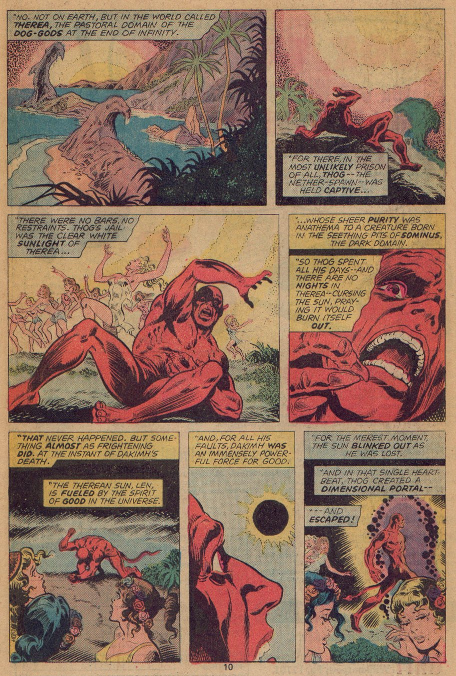 Man-Thing (1974) issue 22 - Page 7