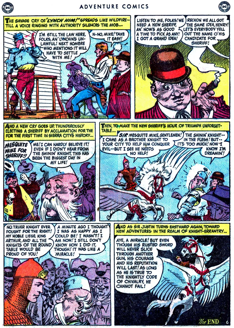 Read online Adventure Comics (1938) comic -  Issue #163 - 22