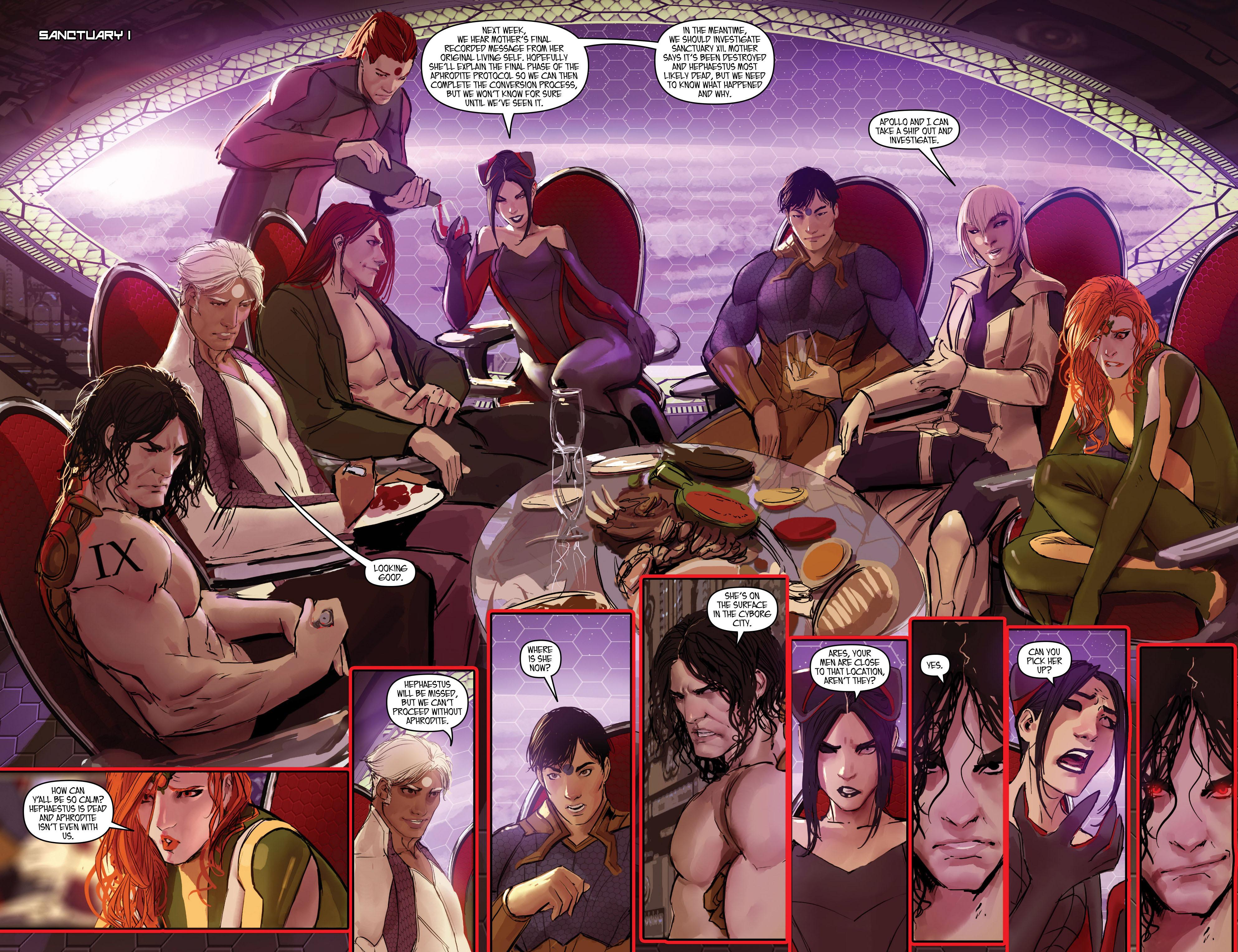 Read online Aphrodite IX (2013) comic -  Issue #Aphrodite IX (2013) _TPB 2 - 86