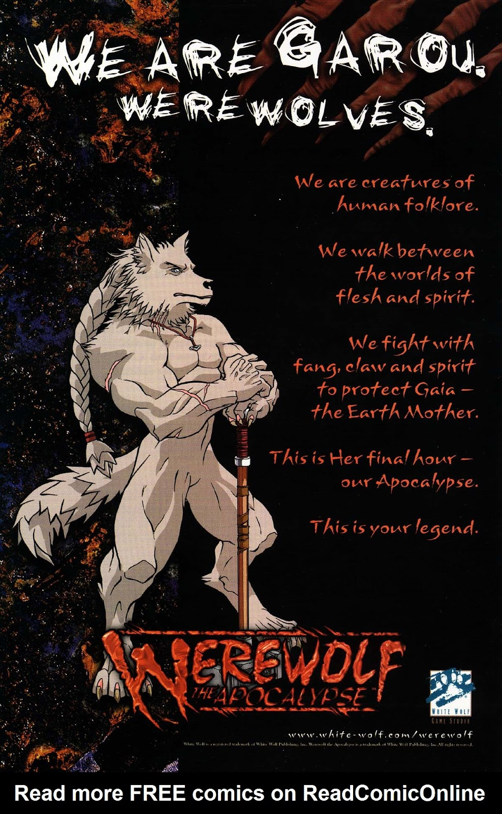 Read online Werewolf the Apocalypse comic -  Issue # Bone Gnawers - 4