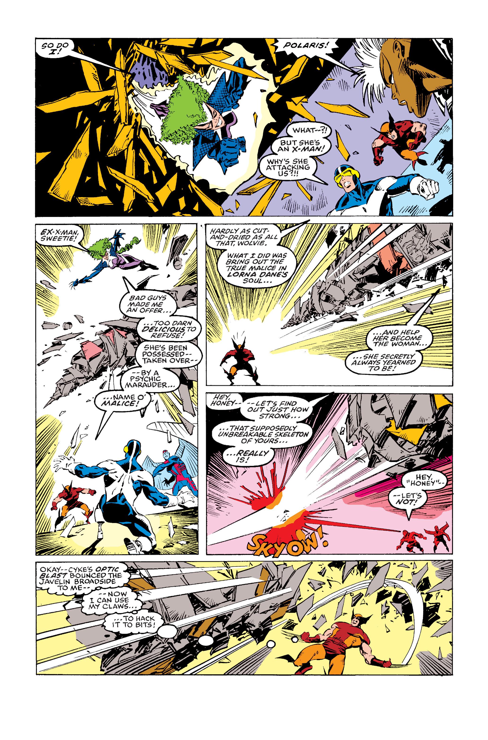 Read online Uncanny X-Men (1963) comic -  Issue #243 - 21