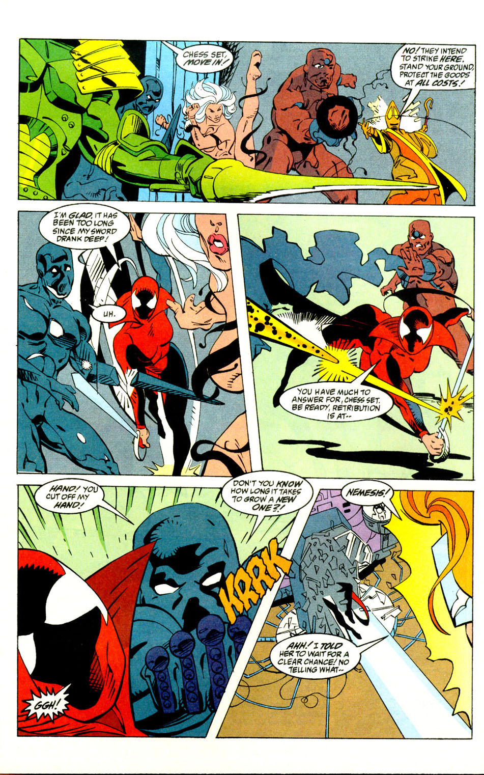 Read online Alpha Flight (1983) comic -  Issue #121 - 18