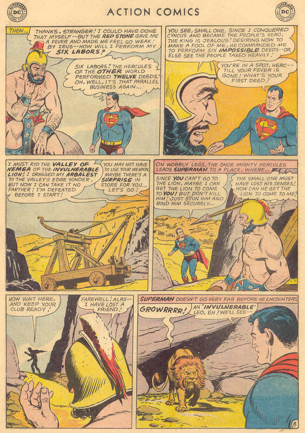Read online Action Comics (1938) comic -  Issue #308 - 10