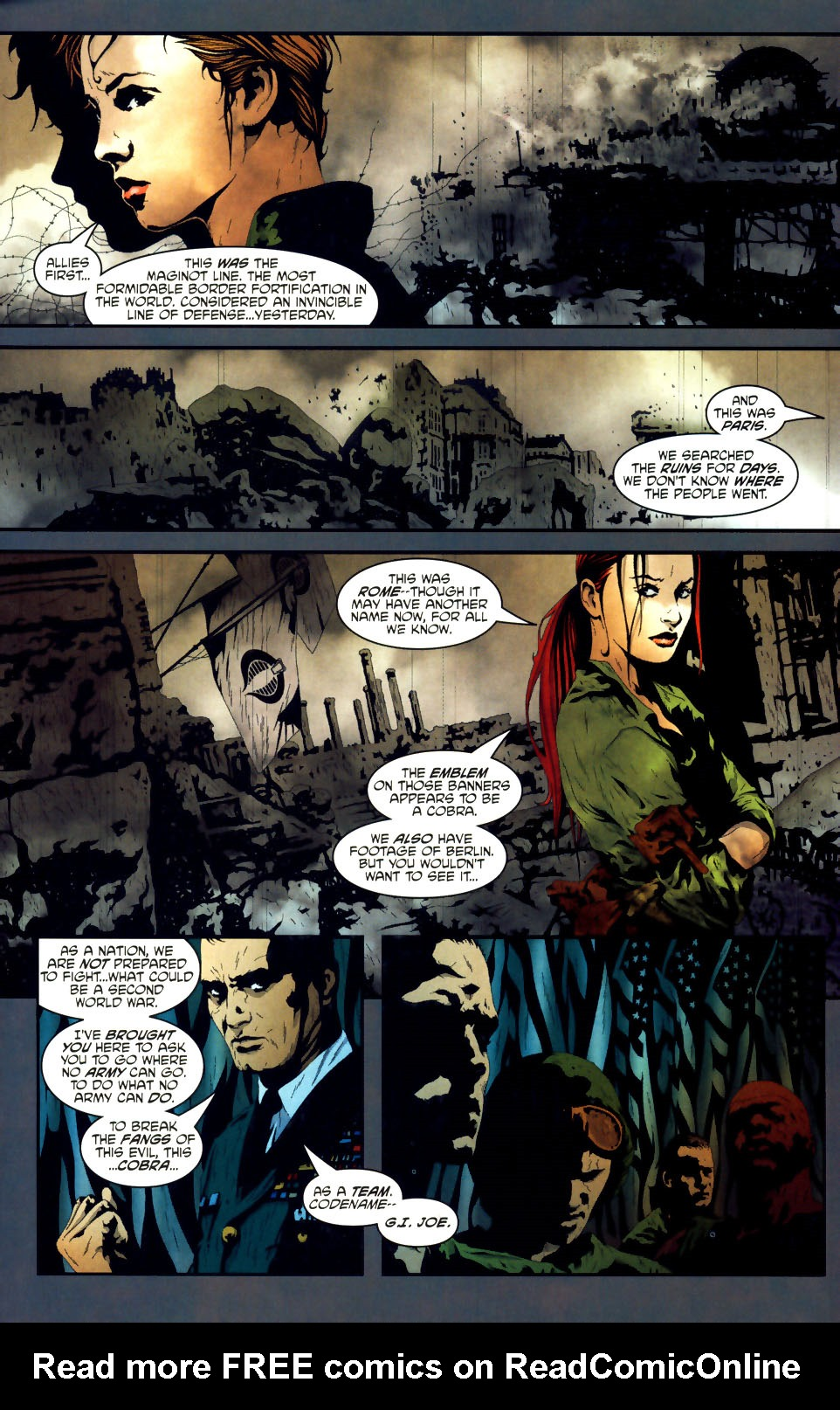 Read online Transformers/G.I. Joe comic -  Issue #1 - 10
