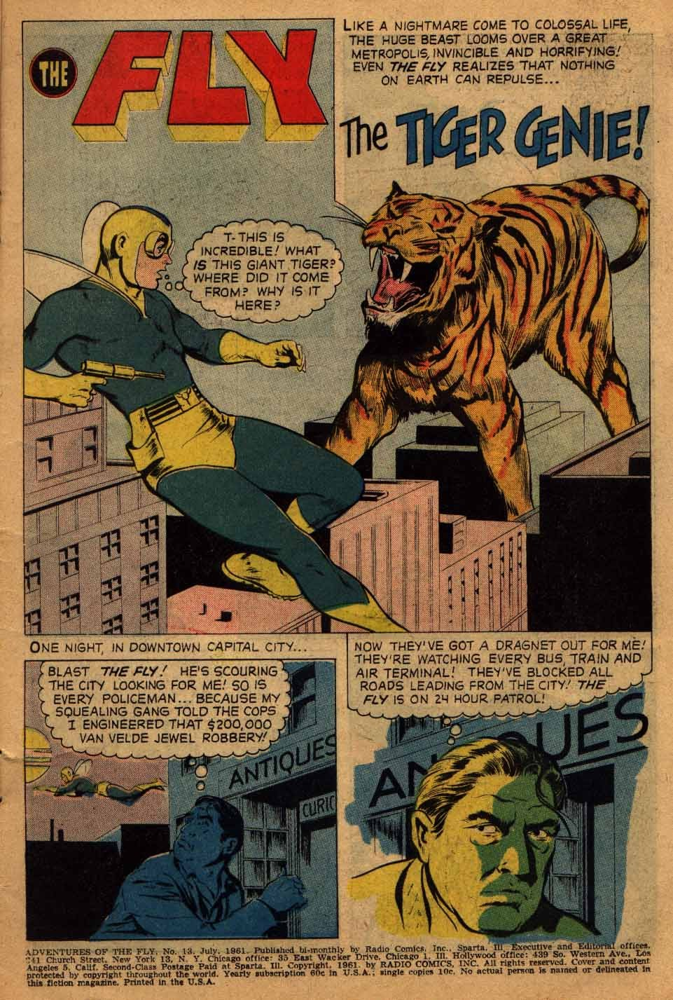 Adventures of the Fly issue 13 - Page 3