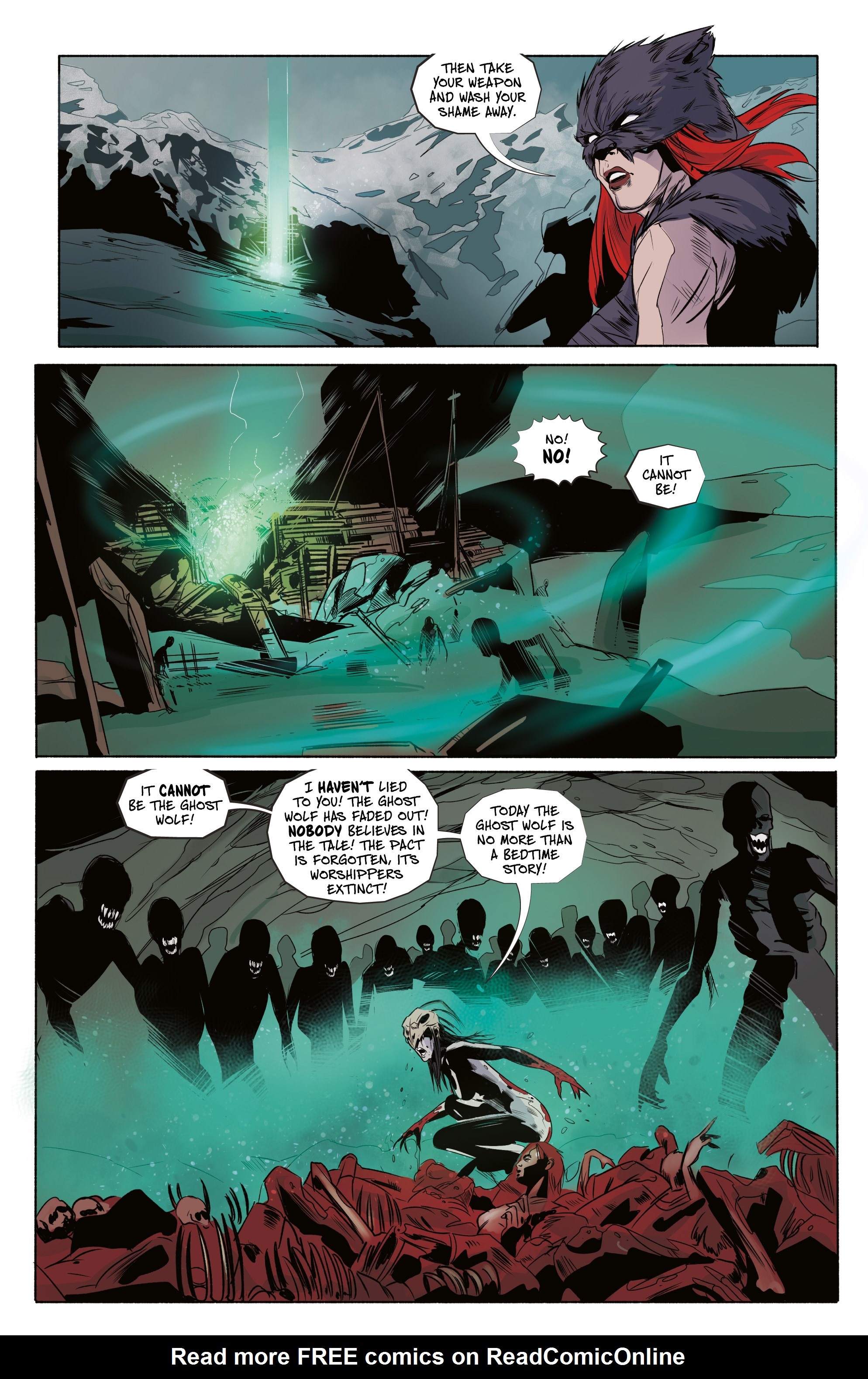 Read online Ghost Wolf comic -  Issue #4 - 17