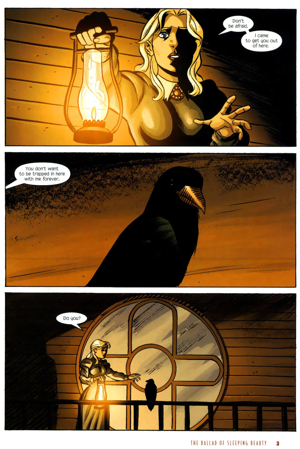 Read online The Ballad of Sleeping Beauty comic -  Issue #7 - 5