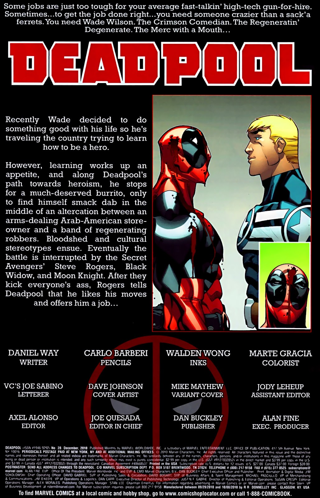 Read online Deadpool (2008) comic -  Issue #28 - 3