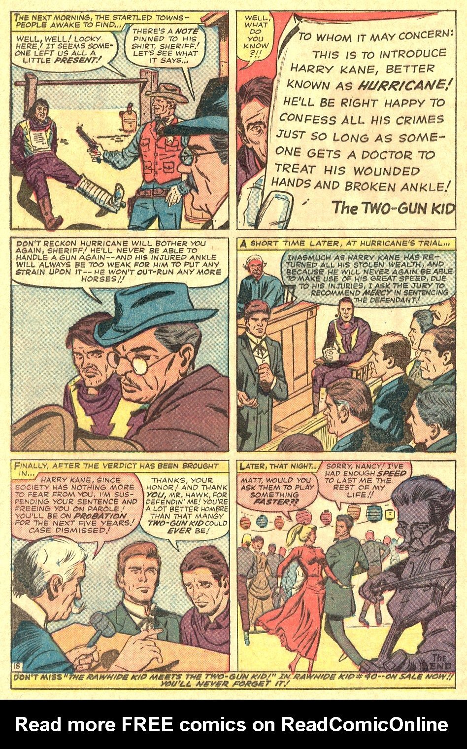 Read online Two-Gun Kid comic -  Issue #70 - 24