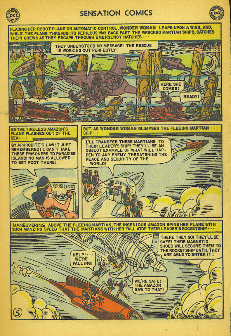 Read online Sensation (Mystery) Comics comic -  Issue #104 - 7