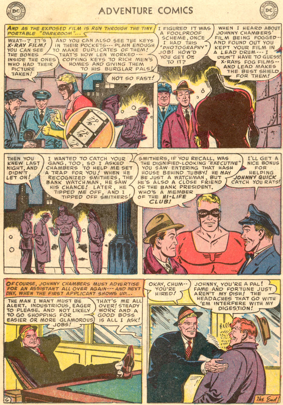 Read online Adventure Comics (1938) comic -  Issue #186 - 30