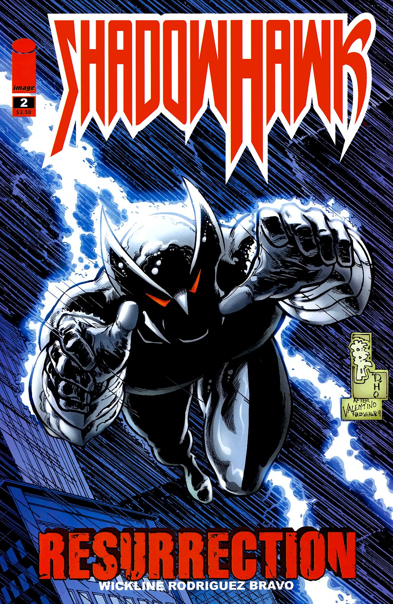 Read online ShadowHawk (2010) comic -  Issue #2 - 1
