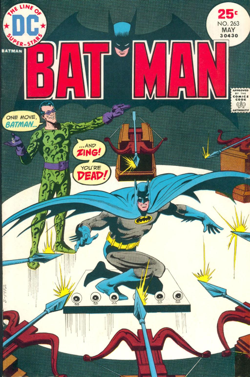 Batman (1940) 263 Page 1
