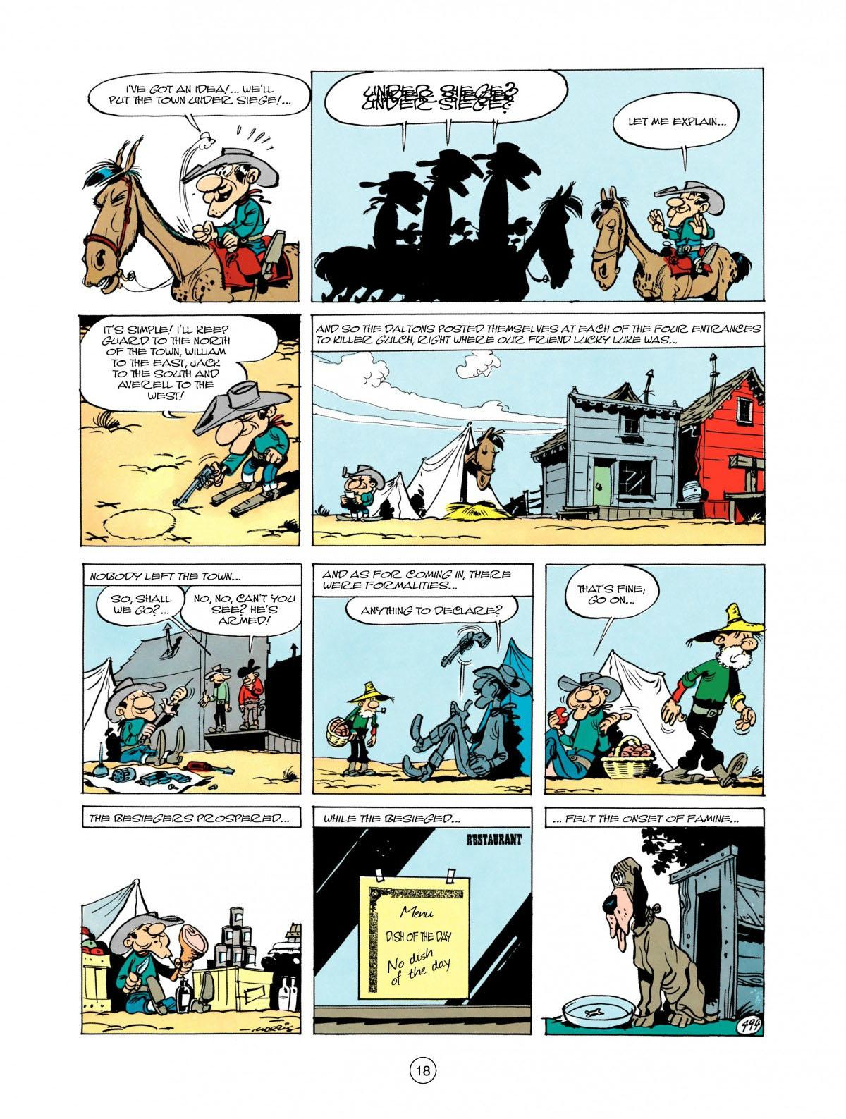 Read online A Lucky Luke Adventure comic -  Issue #28 - 19