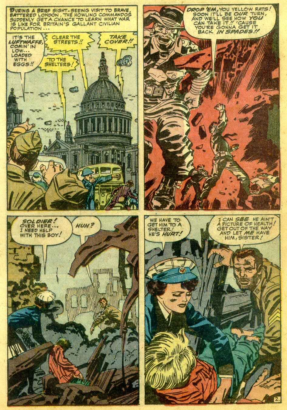 Read online Sgt. Fury comic -  Issue # _Annual 1 - 25