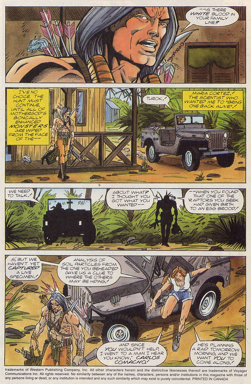 Read online Turok, Dinosaur Hunter (1993) comic -  Issue #3 - 4