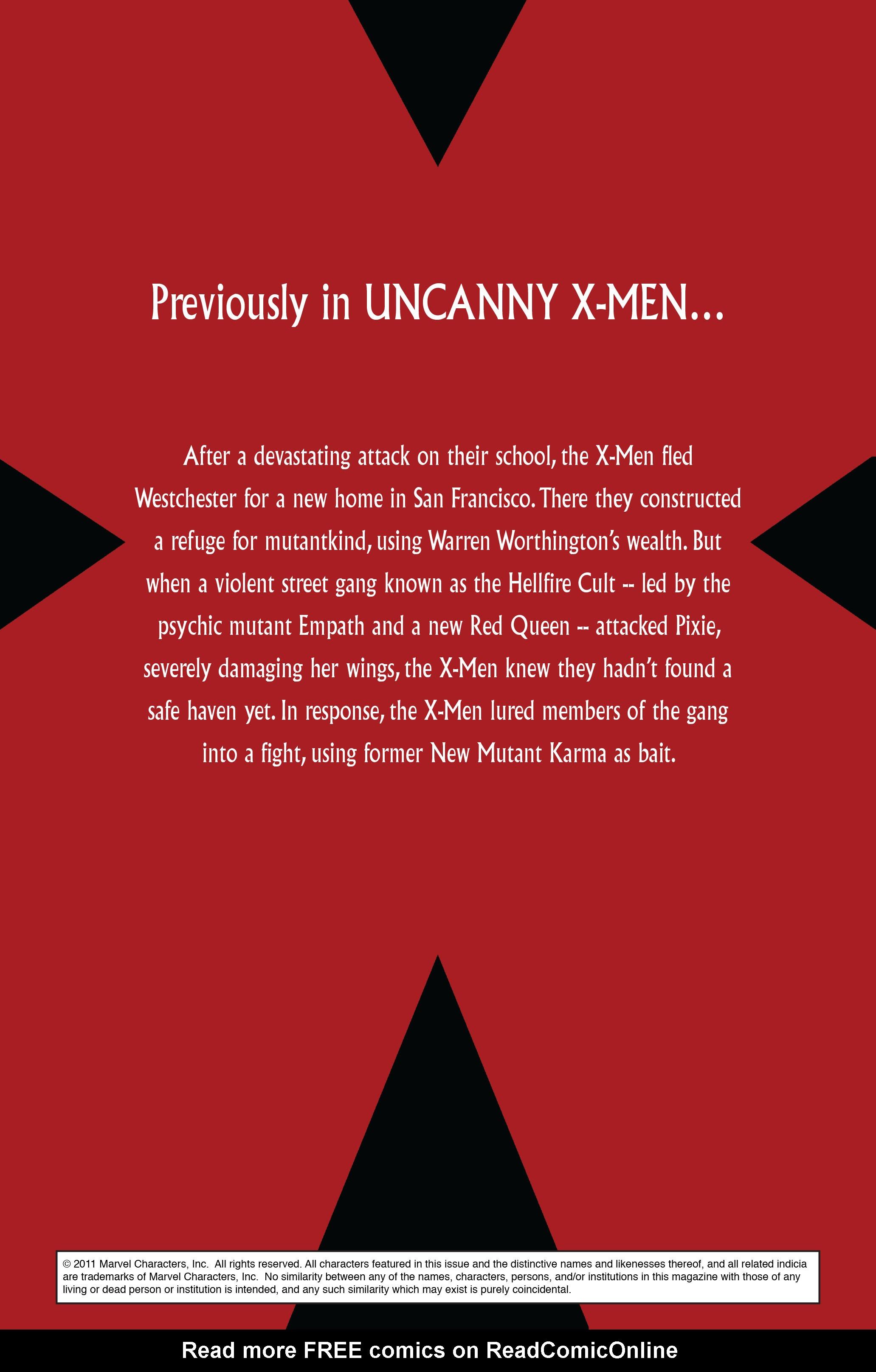 Read online Uncanny X-Men (1963) comic -  Issue #502 - 2