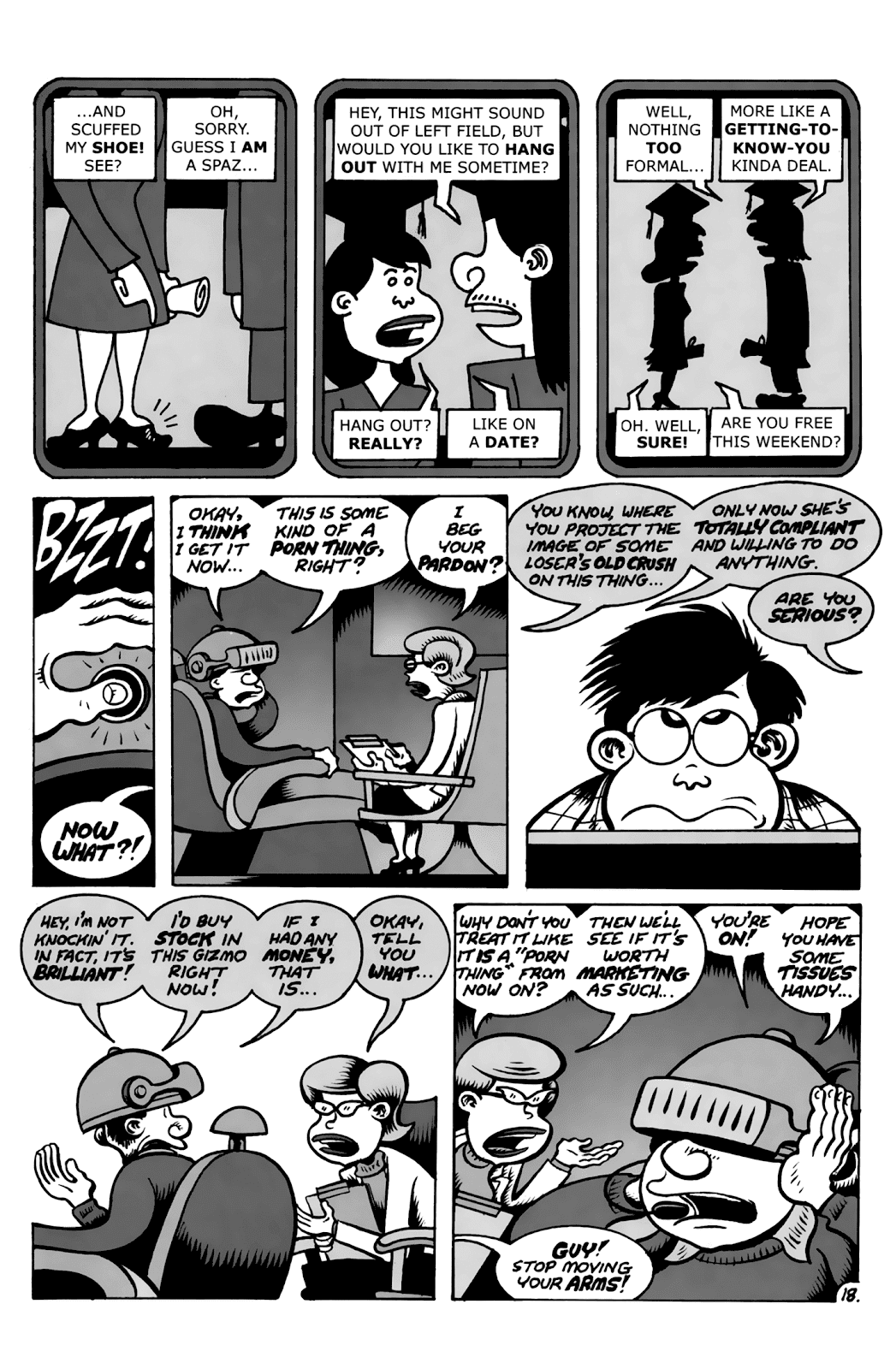 Read online Reset comic -  Issue #1 - 21