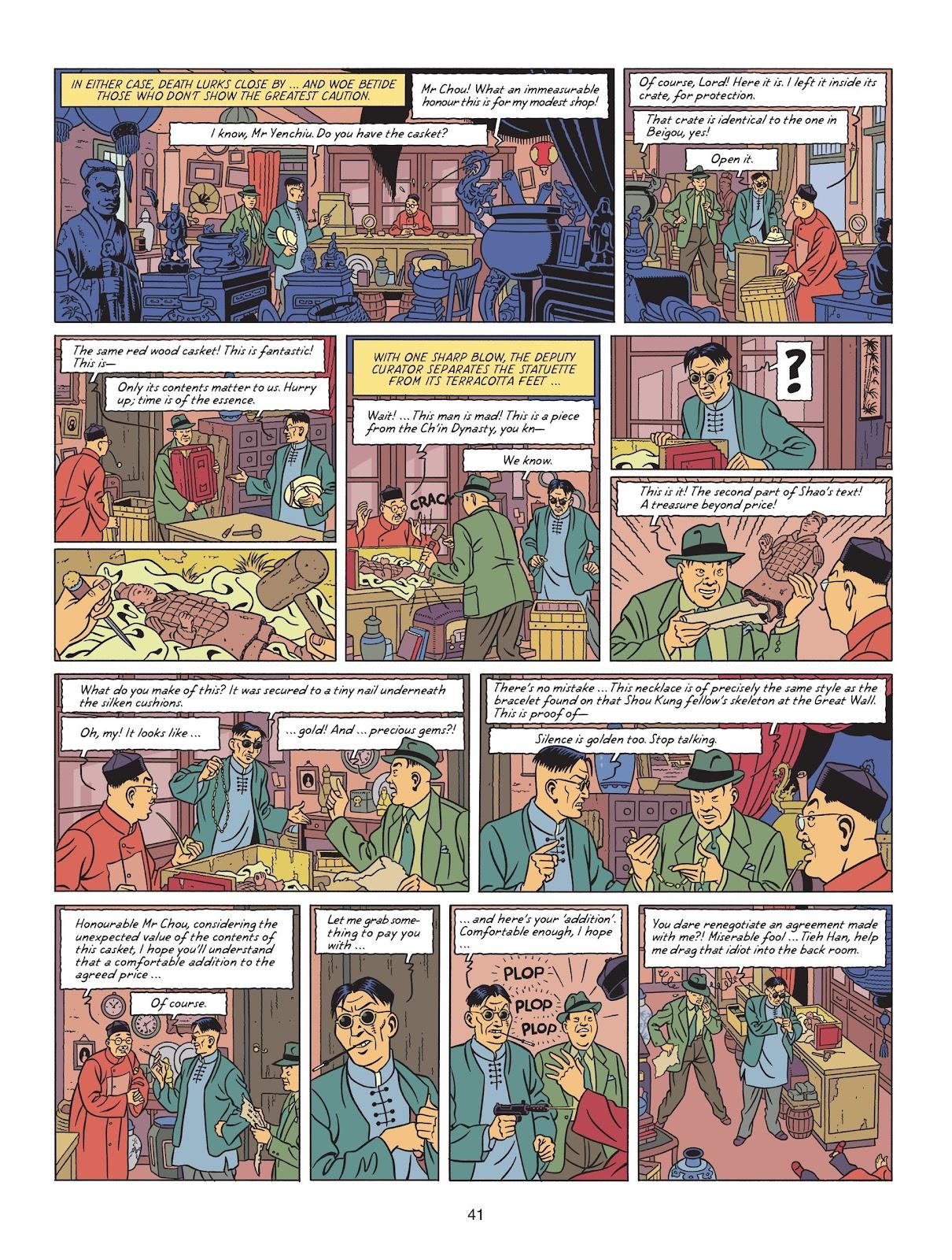 Read online Blake & Mortimer comic -  Issue #25 - 43