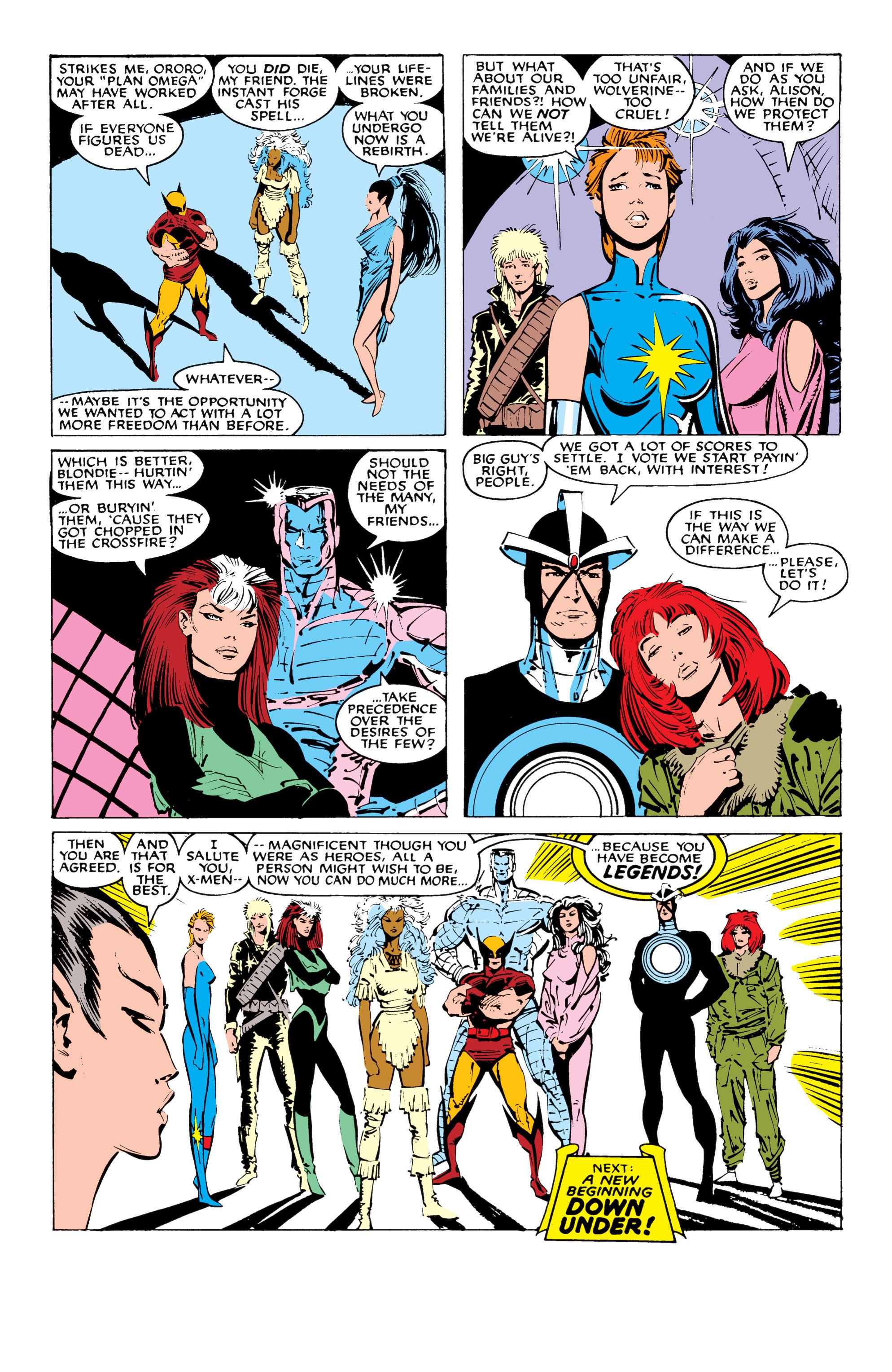 Read online Uncanny X-Men (1963) comic -  Issue #227 - 24