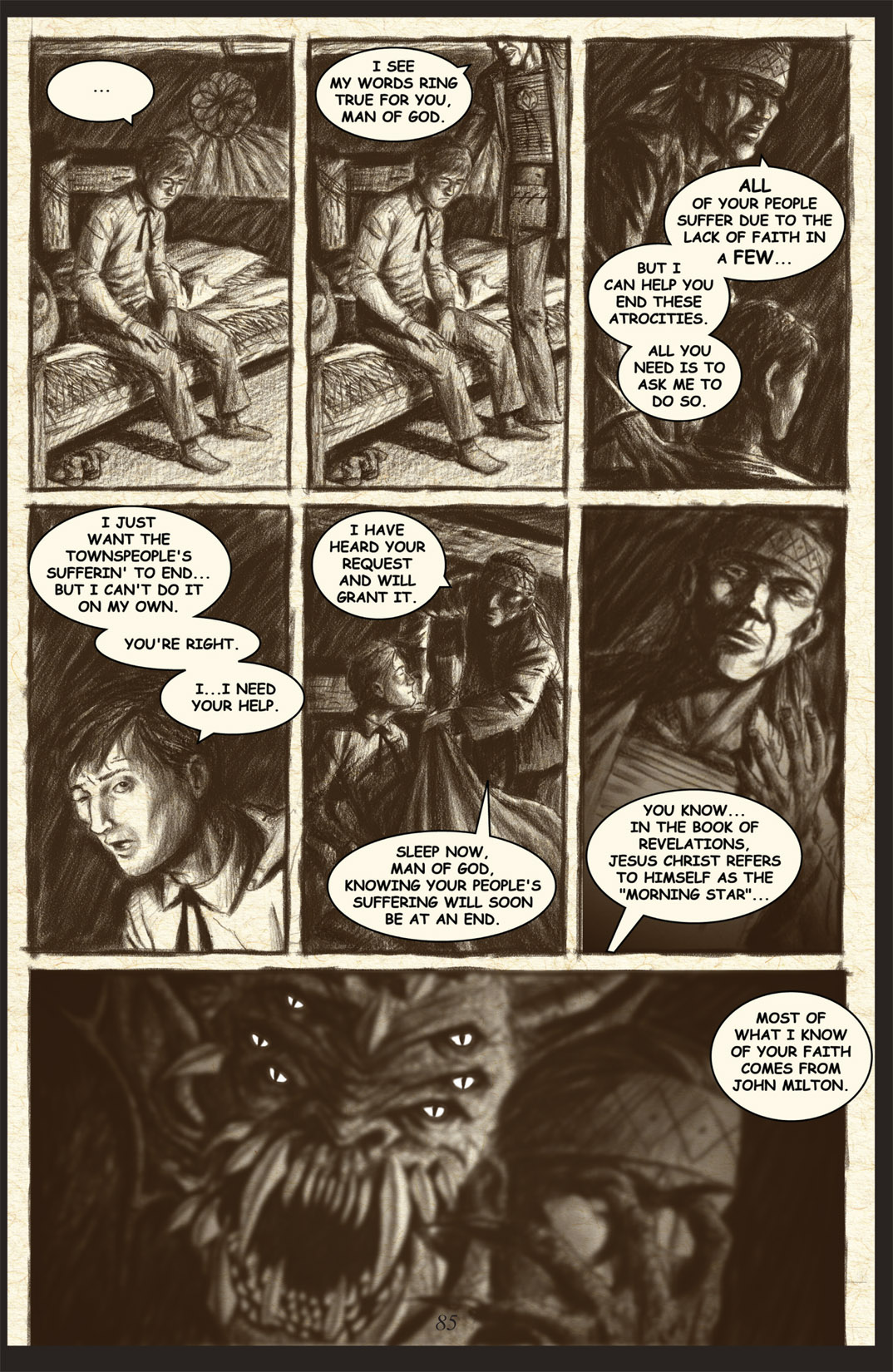 Read online Nightmare World comic -  Issue # Vol. 2 Leave the Light On - 86