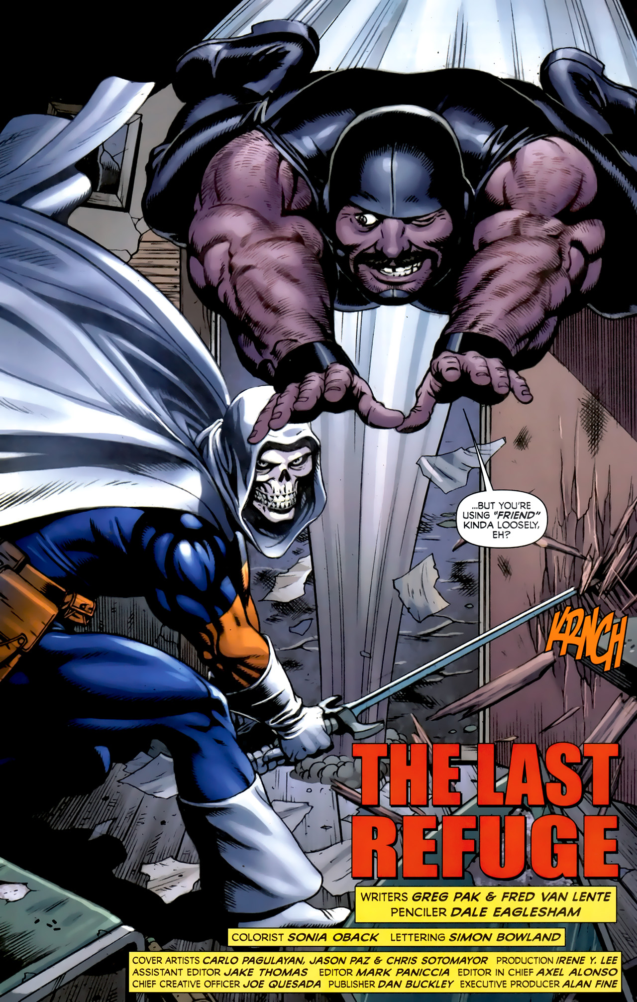 Read online Alpha Flight (2011) comic -  Issue #5 - 5
