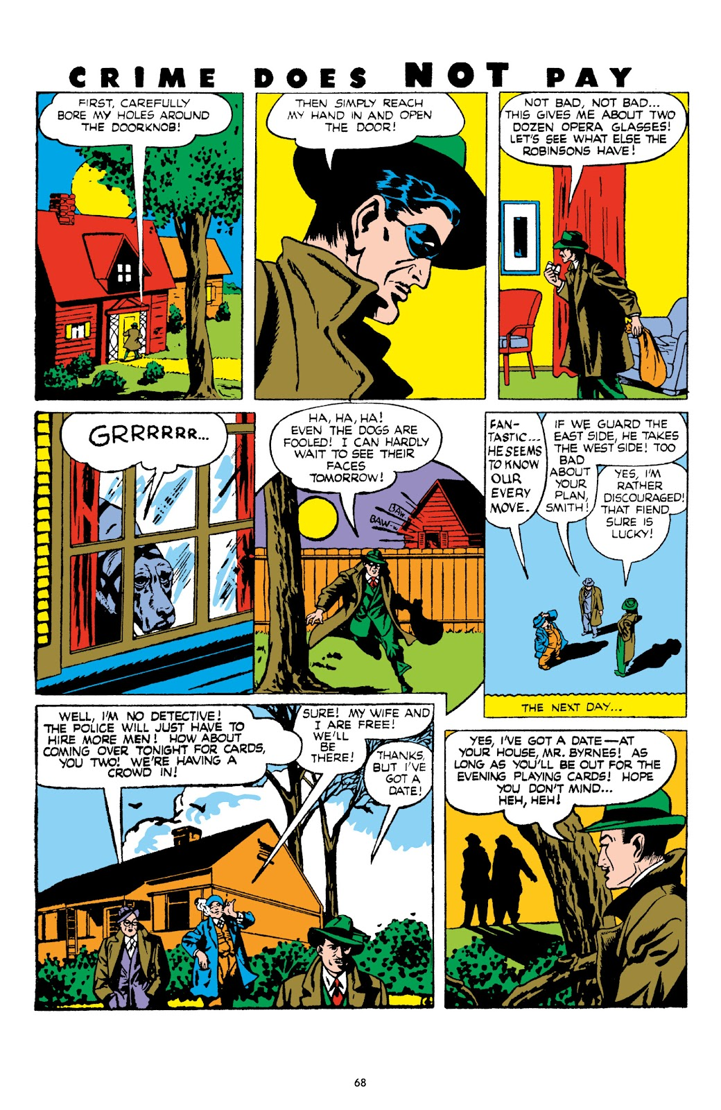 Read online Crime Does Not Pay Archives comic -  Issue # TPB 8 (Part 1) - 69