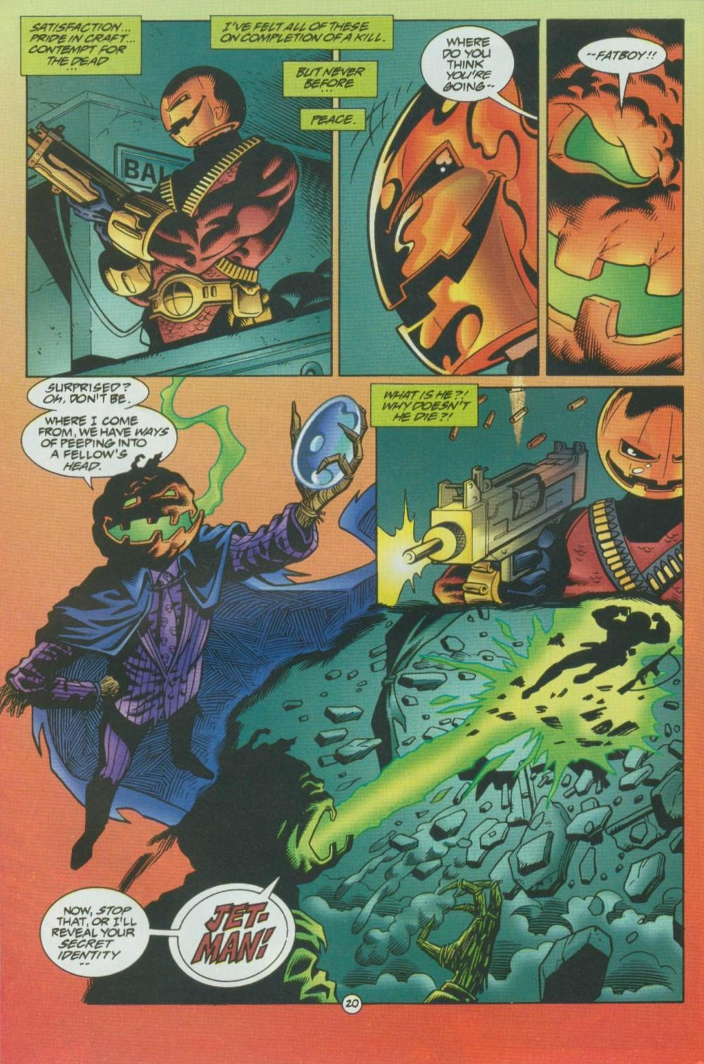 Read online Sludge comic -  Issue #8 - 21