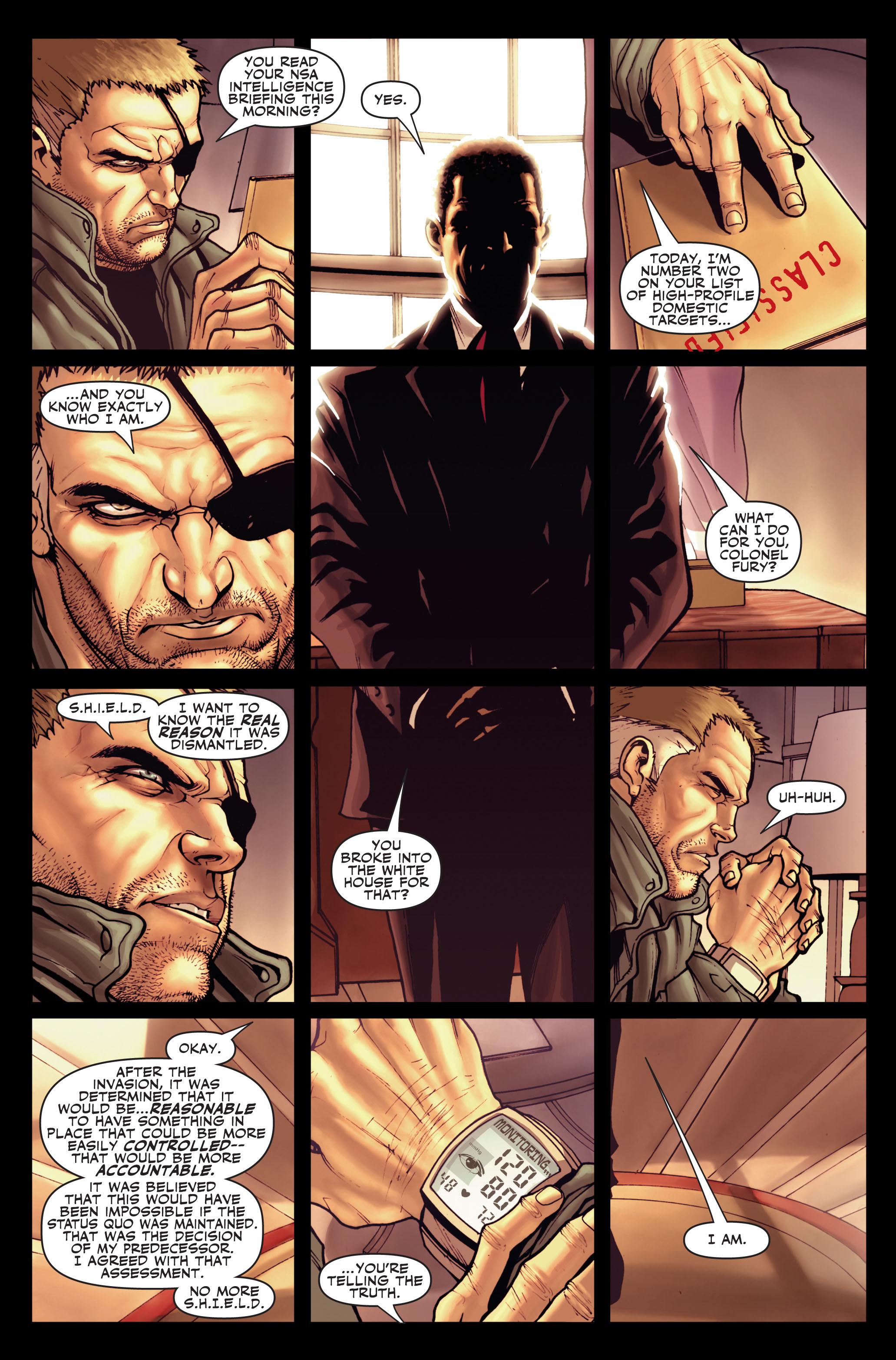 Read online Secret Warriors comic -  Issue #1 - 21