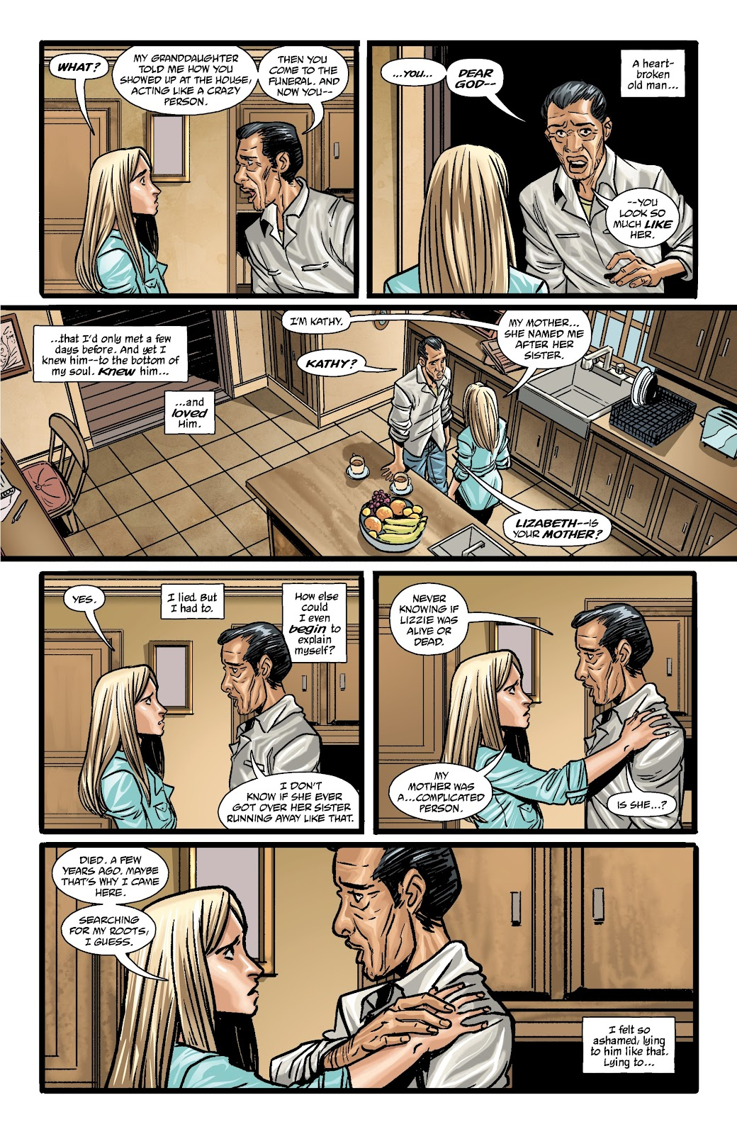 Read online The Girl In The Bay comic -  Issue #3 - 21