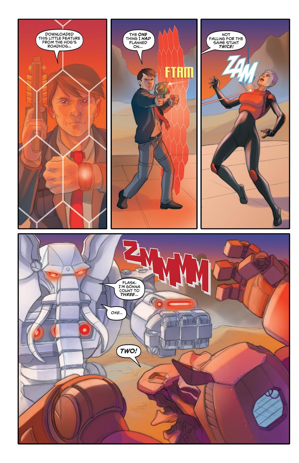 Read online Elephantmen 2261 Season Two: The Pentalion Job comic -  Issue # TPB - 75