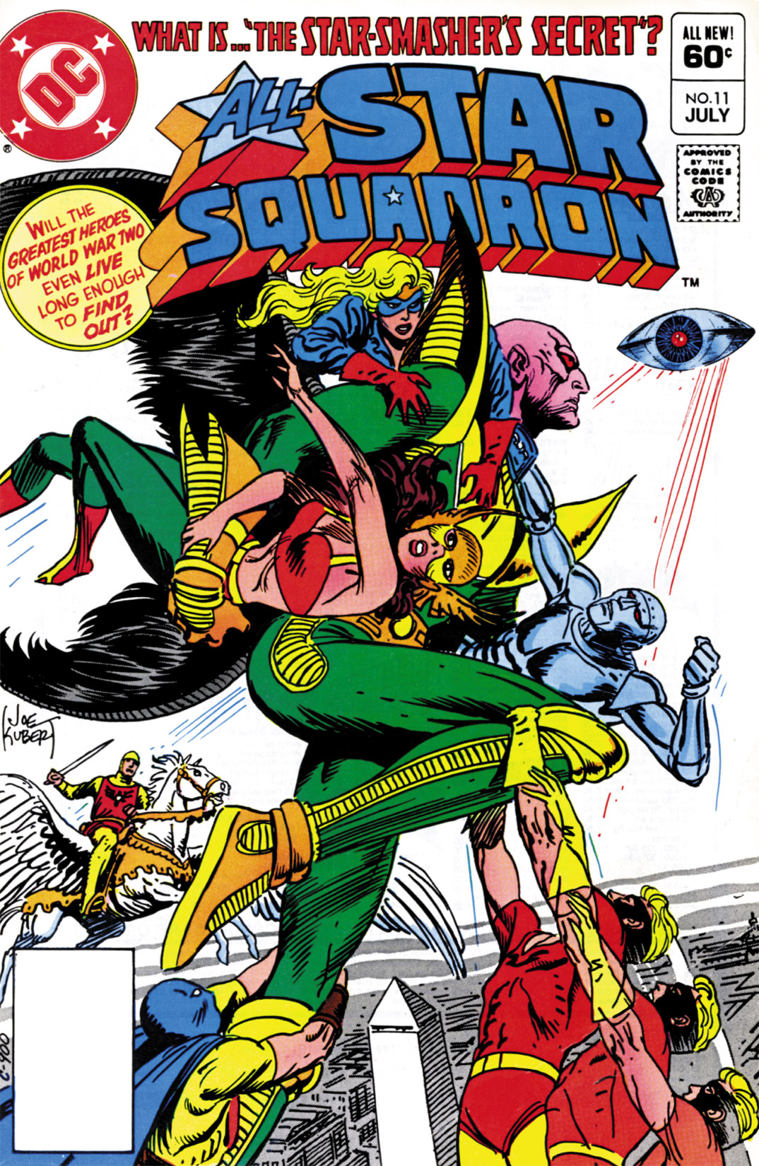 Read online All-Star Squadron comic -  Issue #11 - 1