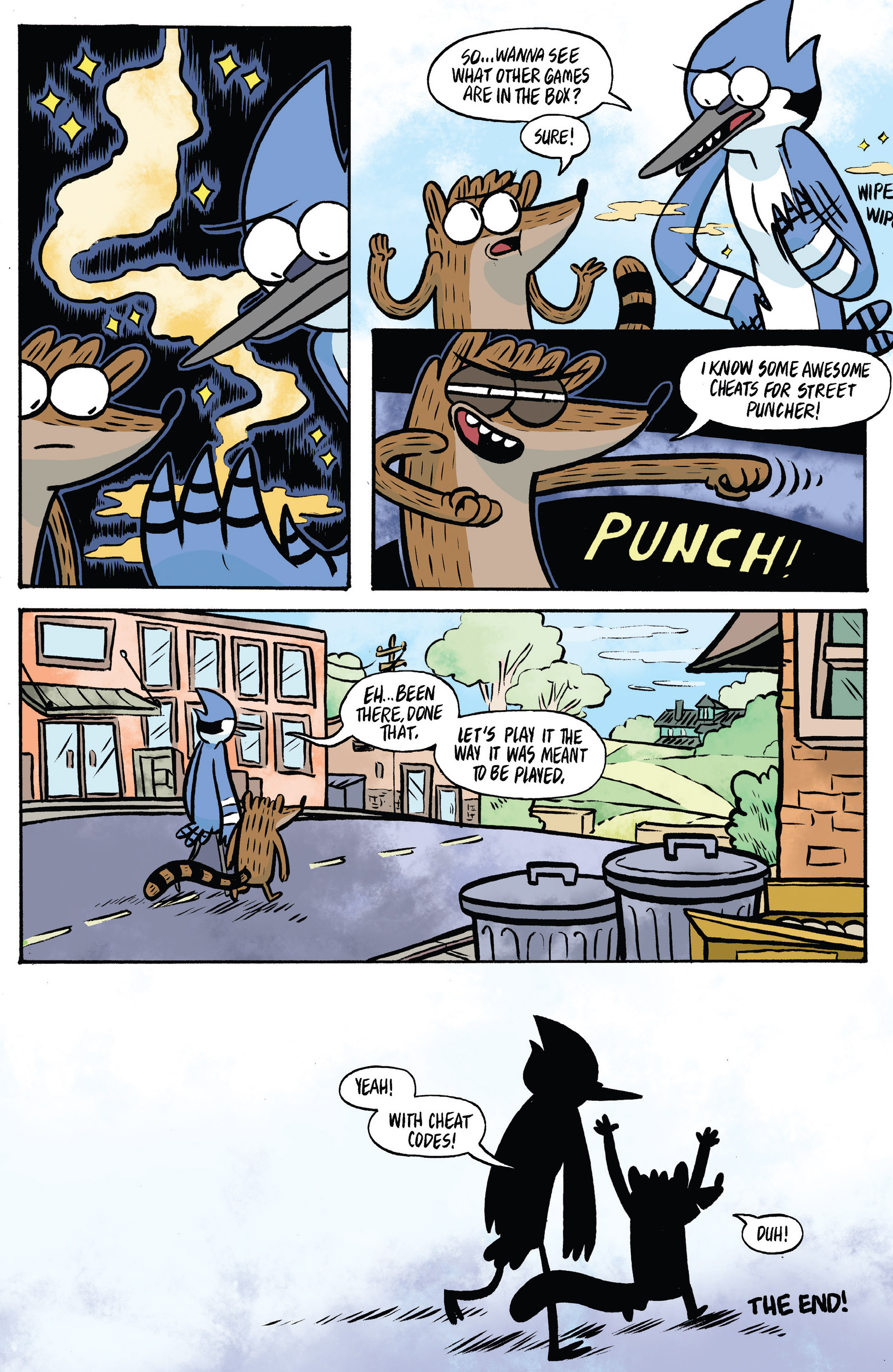 Read online Regular Show comic -  Issue # _Annual 1 - 23
