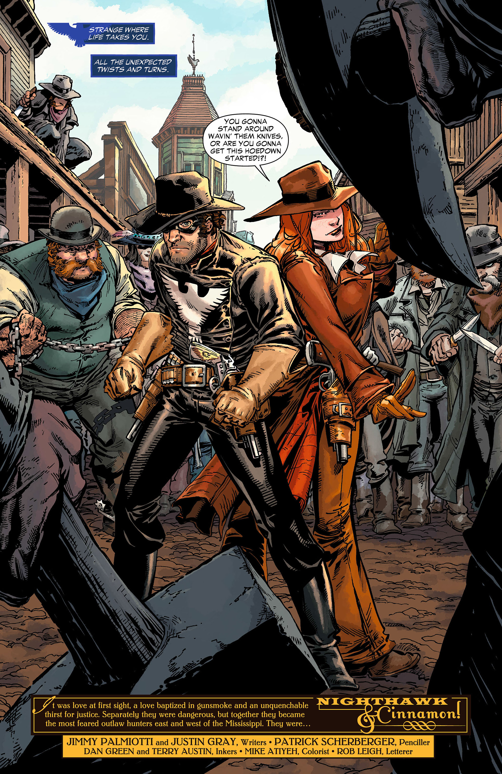 Read online All-Star Western (2011) comic -  Issue #7 - 22