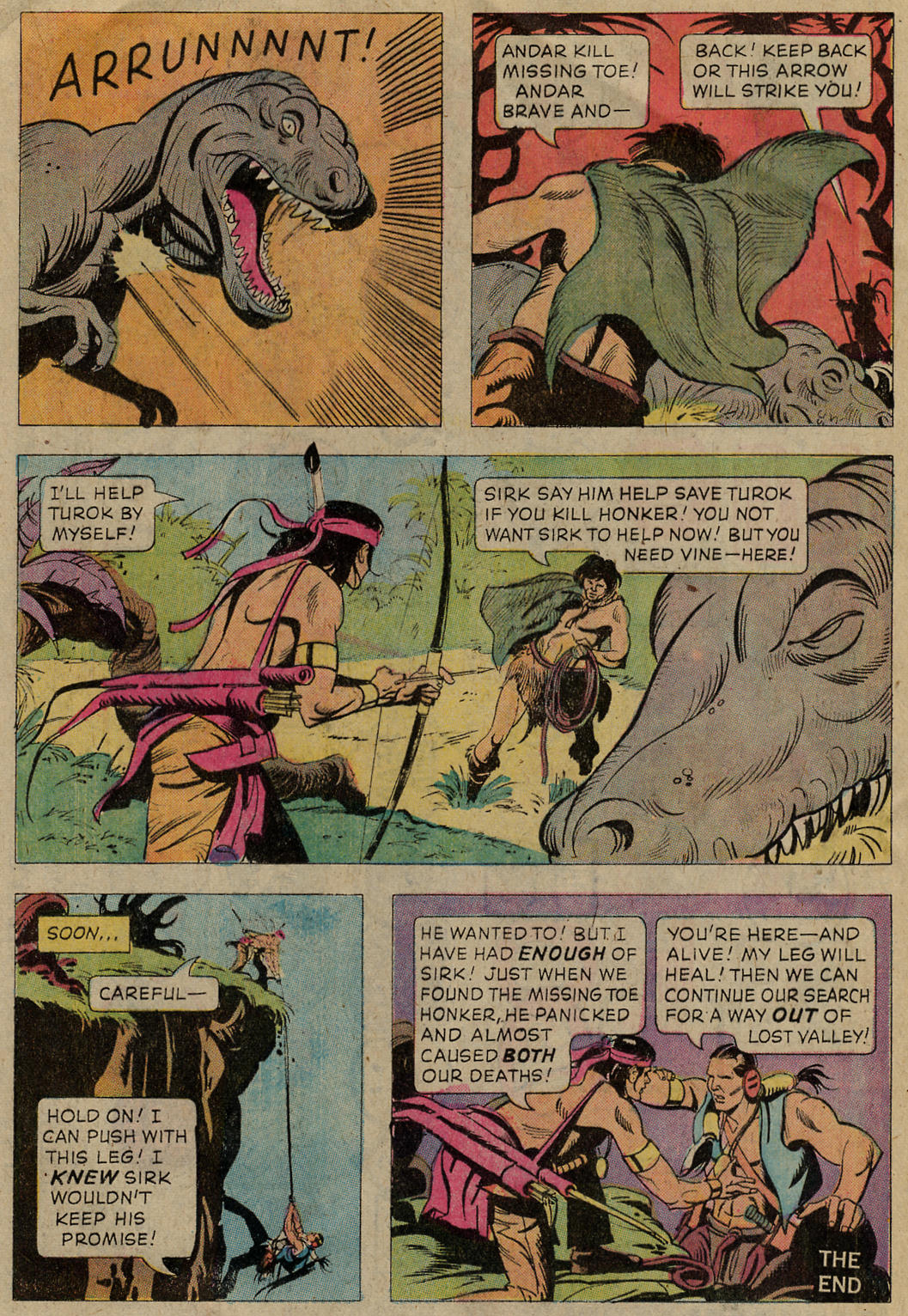 Read online Turok, Son of Stone comic -  Issue #102 - 17
